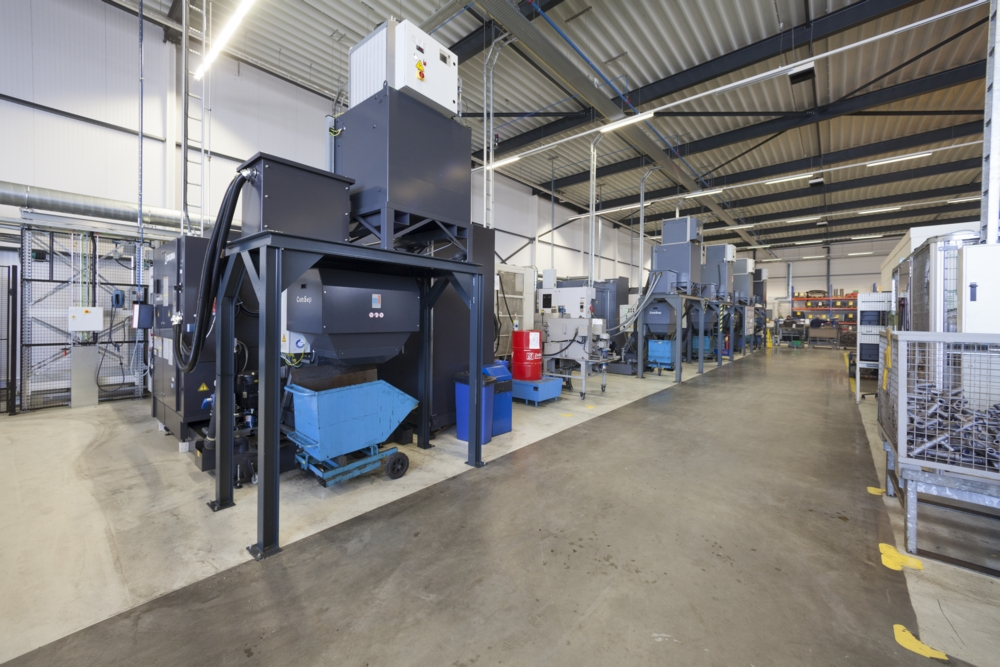 Machining department FMS
